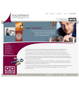 High Point Precision Products