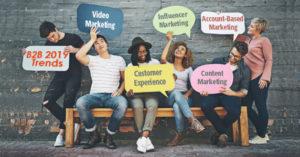B2b marketing trends 2019